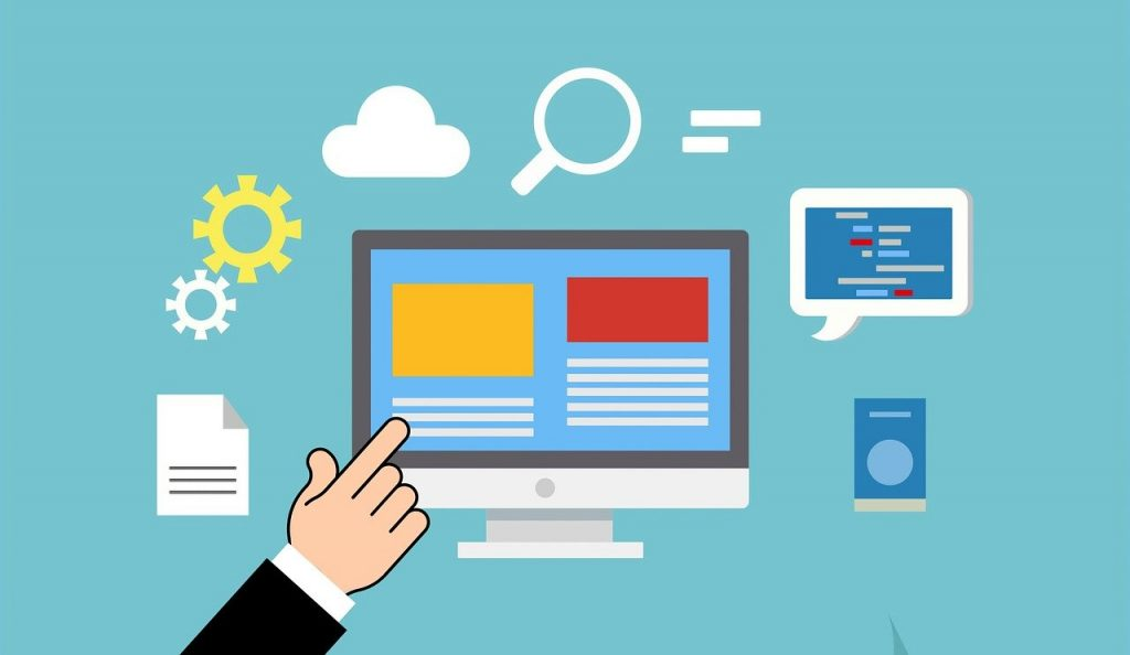 illustration des fonctionnalités numériques d'un ordinateur